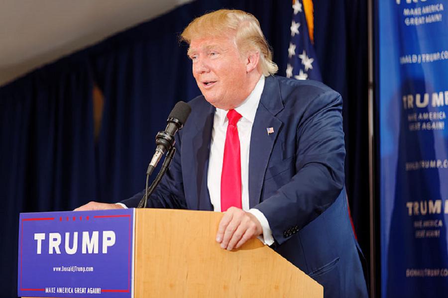 Mr Donald Trump. Photo by Michael Vadon
