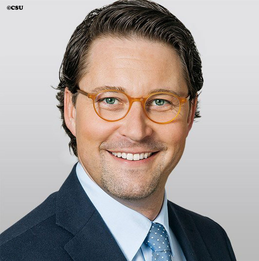 Mr Andreas Scheuer is the executive top aide to Bavarian premier