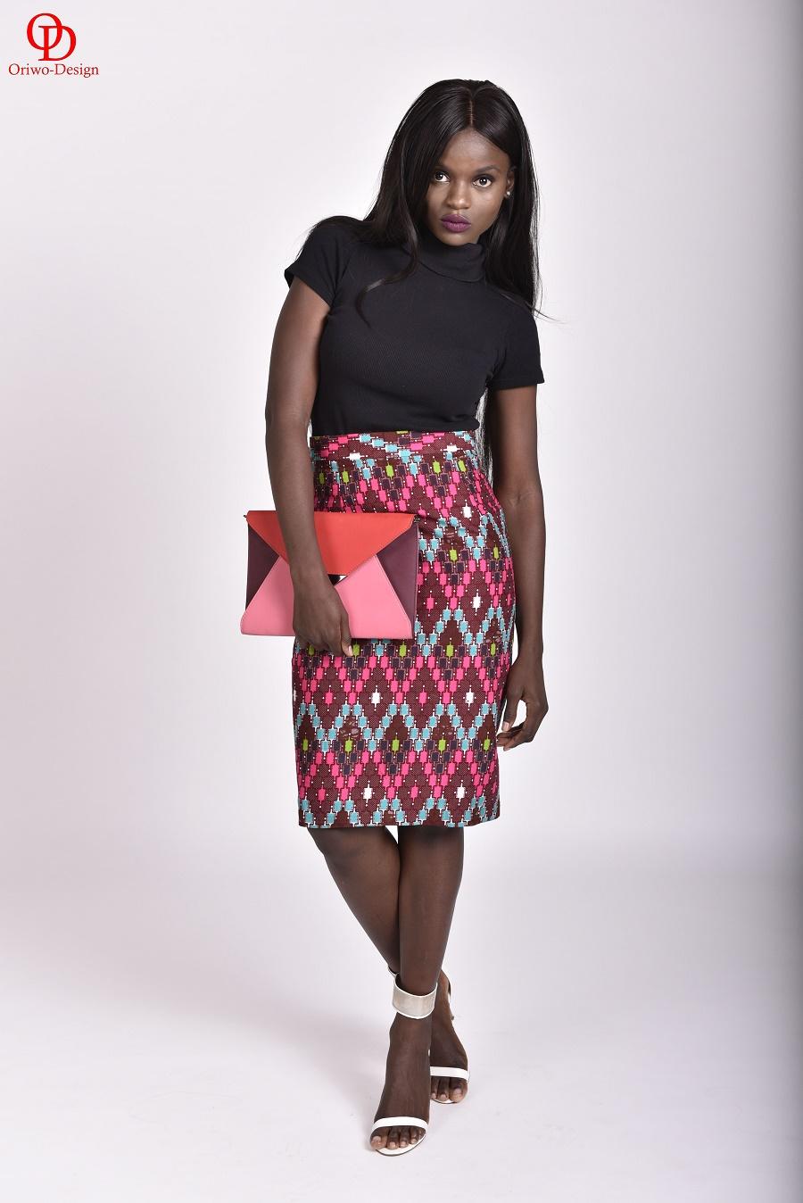 African-Print-Pencil-Skirt
