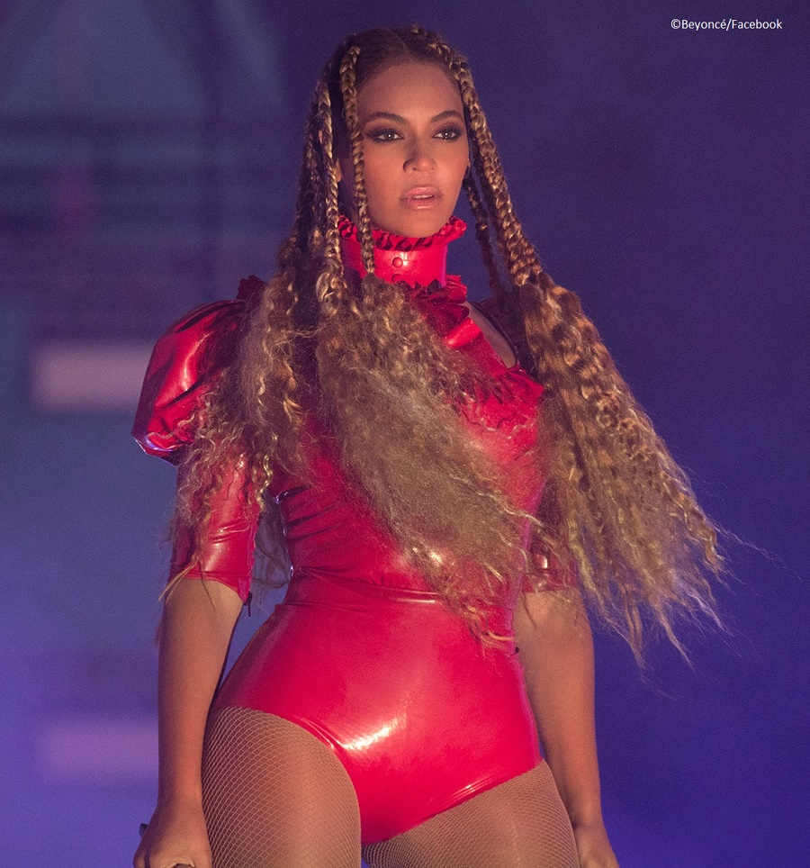 """Singer Beyoncé holds that a feminist is """"someone who believes in equal rights for men and women"""""""