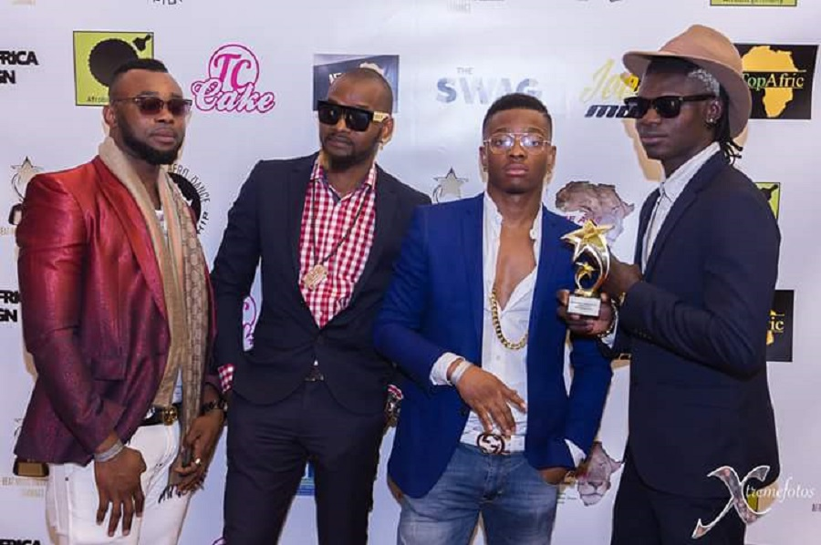 """""""Kalongolo Love"""" by Jesty B Peter (Right) won the Best Afrobeat Song Award"""