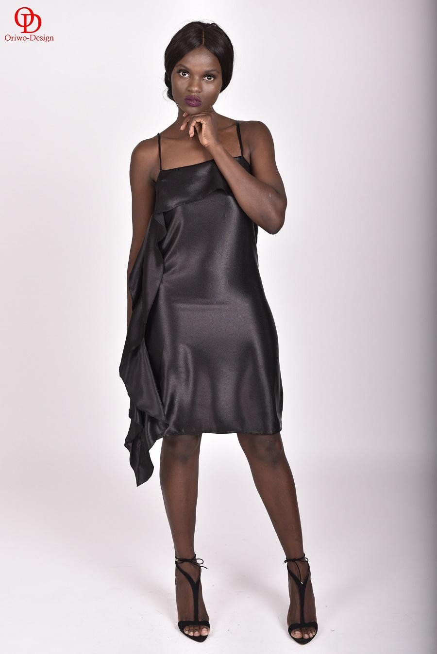 Minimal-Slip-Dress-with-side-Ruffle-Detail
