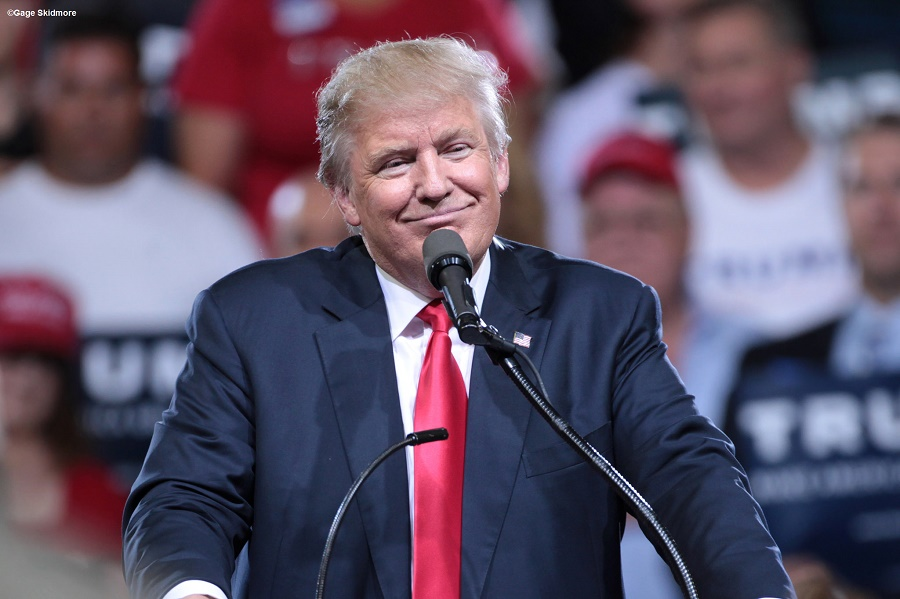 Mr Donald Trump proved to be a skilled public communicator who always uses a simple and comprehensive language