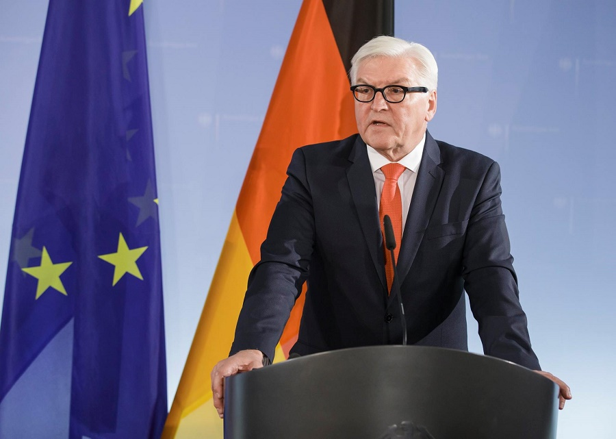 German Foreign Minister Frank-Walter Steinmeier says UNHCR will use the funds to curb irregular migration from Africa