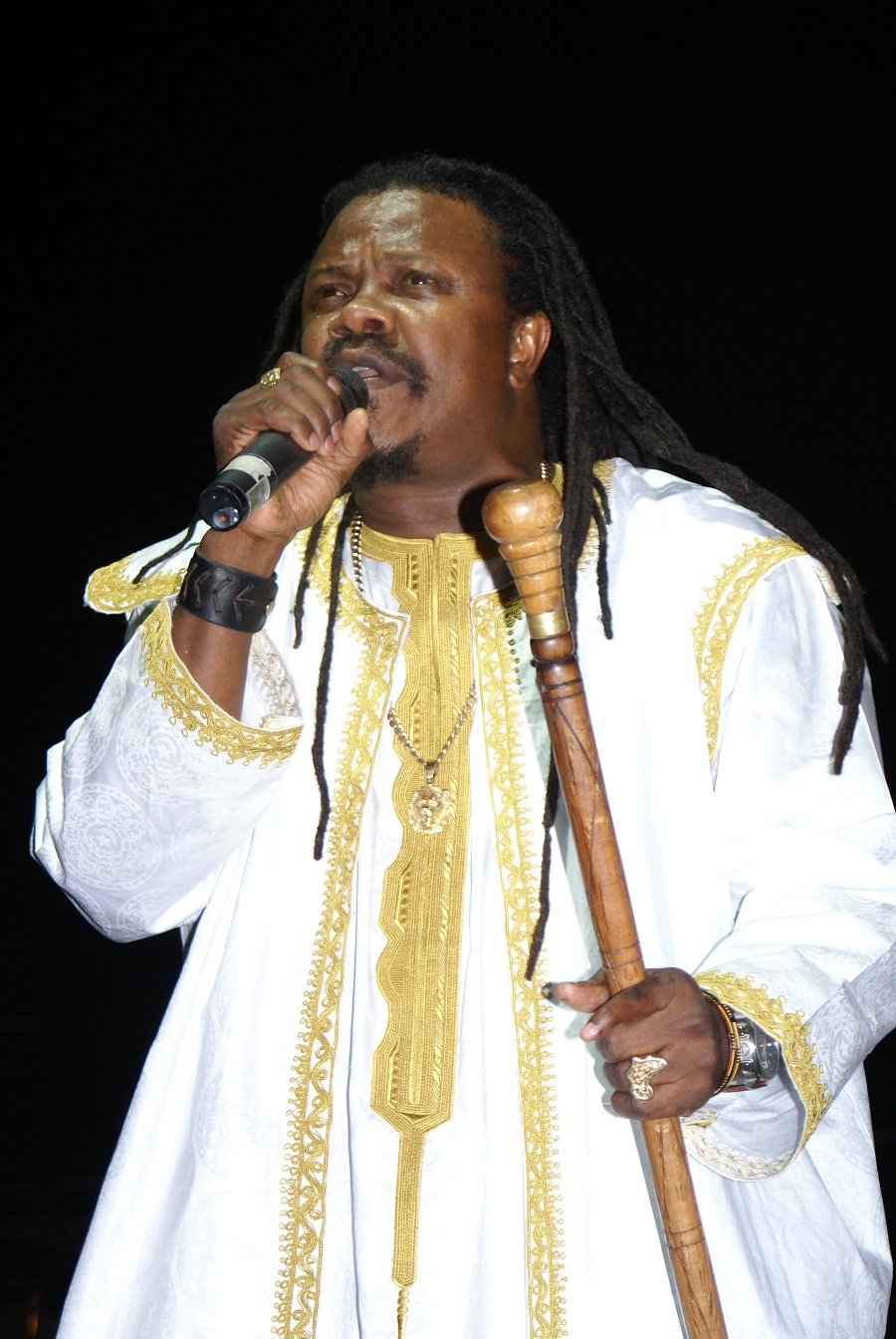 Reggae legend Luciano The Messenger