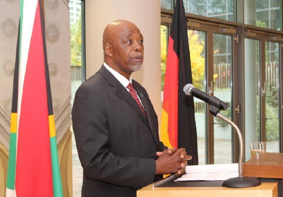 South Africa's new Ambassador to Germany Phumelele Stone Sizani