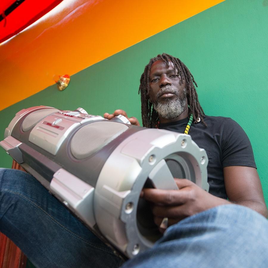 "Tiken jah Fakoly.Reggae.Sessions for the album ""Dernier Appel"". Mali."