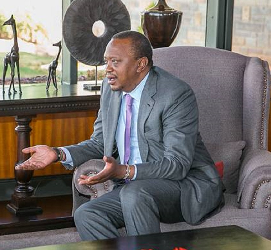 """""""Corruption is frustrating me. The pressure is on me to do something about corruption but my hands are tied,"""" says Kenya's President Uhuru Kenyatta"""