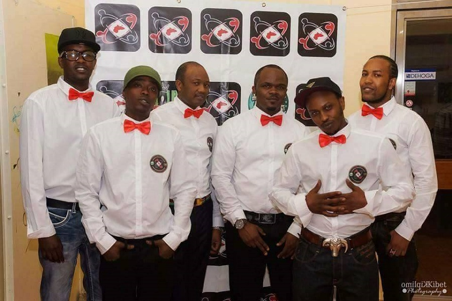 Members of Umoja Youth Afrikanische e.V