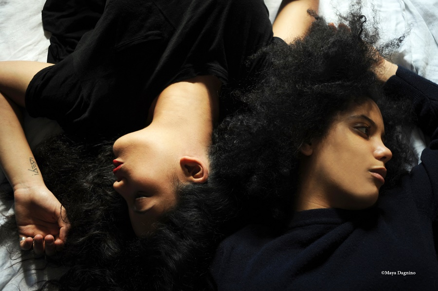 Lisa-Kaindé Diaz and Naomi Diaz, the twin sisters who have named their group Ibeyi