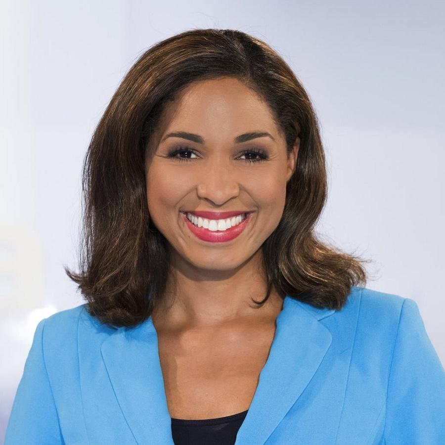 Ms Jana Pareigis, DW news anchor Jana Pareigis and Director of Afro.Germany