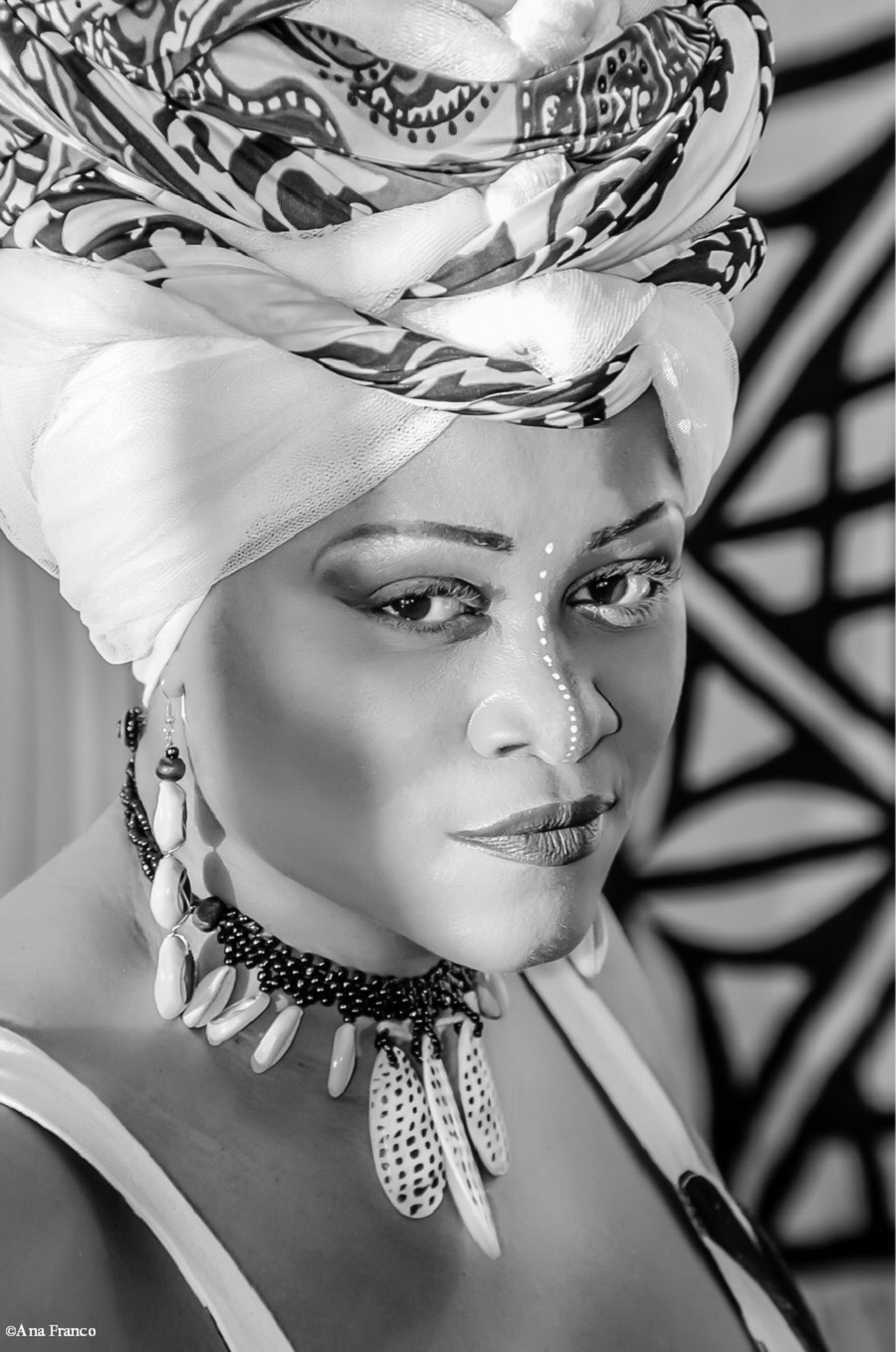 """Sonia Aimy's """"Nigerian Spirit"""" flows directly from her concern and rage at what she sees in in Africa"""