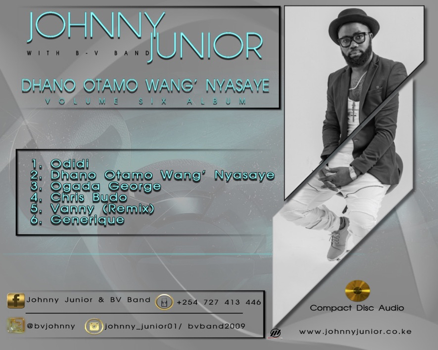 Johnny Junior - Dhano Otamo Wang' Nyasaye COver back