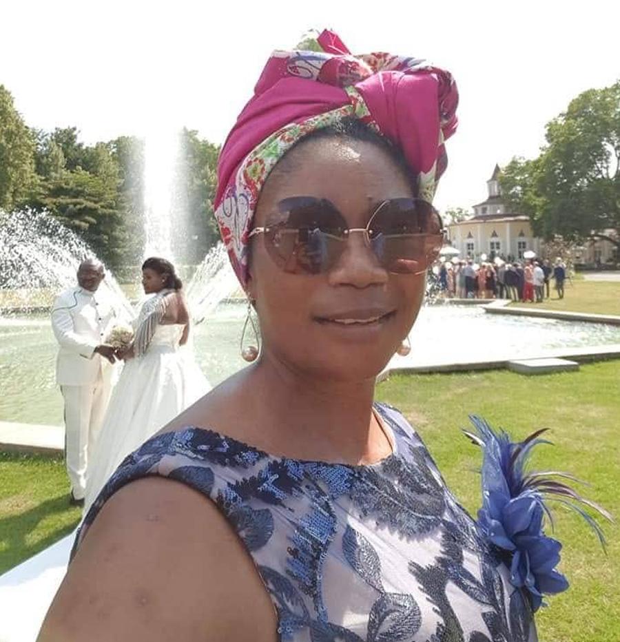 Ms Susan Tatah, the Director of Afrika Festival Tübingen