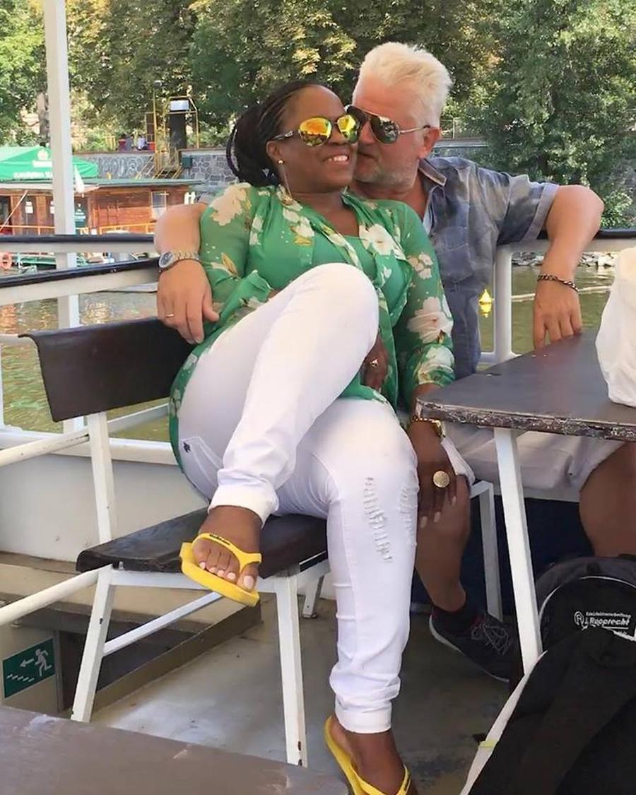 Delia Innoma and husband