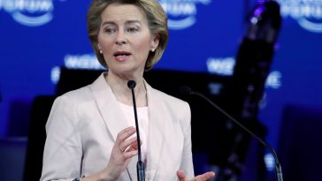 European Commission chief Ursula von der Leyen (Photo European Commission/Facebook)