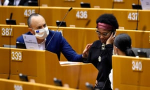 First Afro-German MEP faces police brutality in Belgium