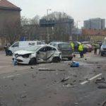 Car accident in Berlin