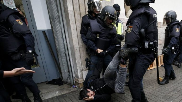 rider in Milan was arrested and beaten by police