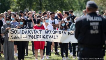 Düsseldorf police brutality
