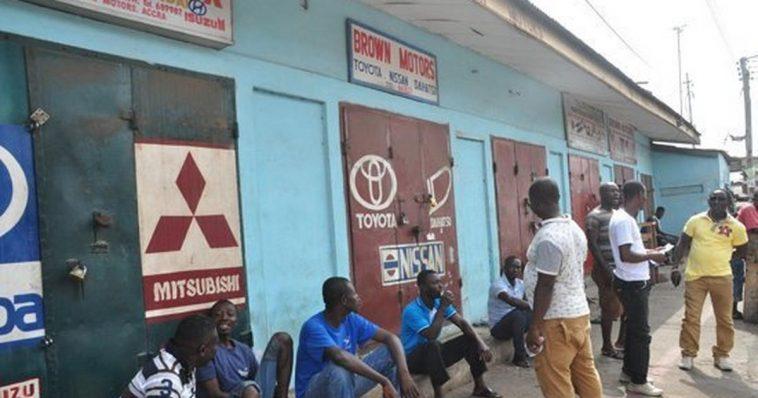 Nigerian trading community in Ghana (ANC)