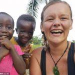 volunteer teacher stranded in Ghana