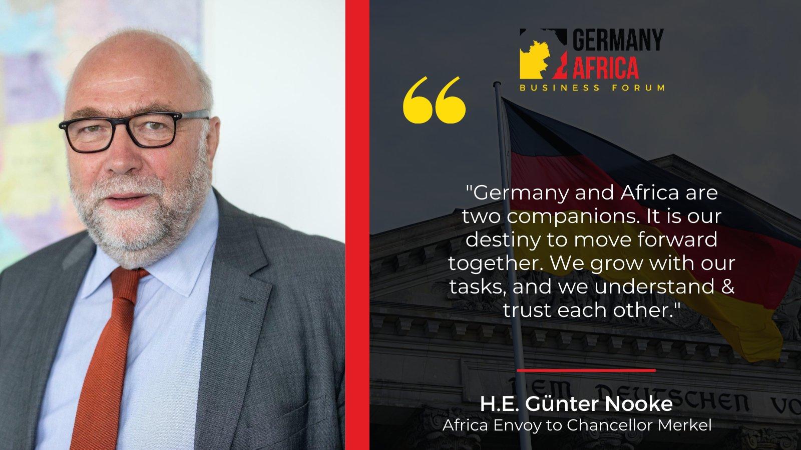 H.E Günter Nooke, Africa Envoy to Chancellor Merkel