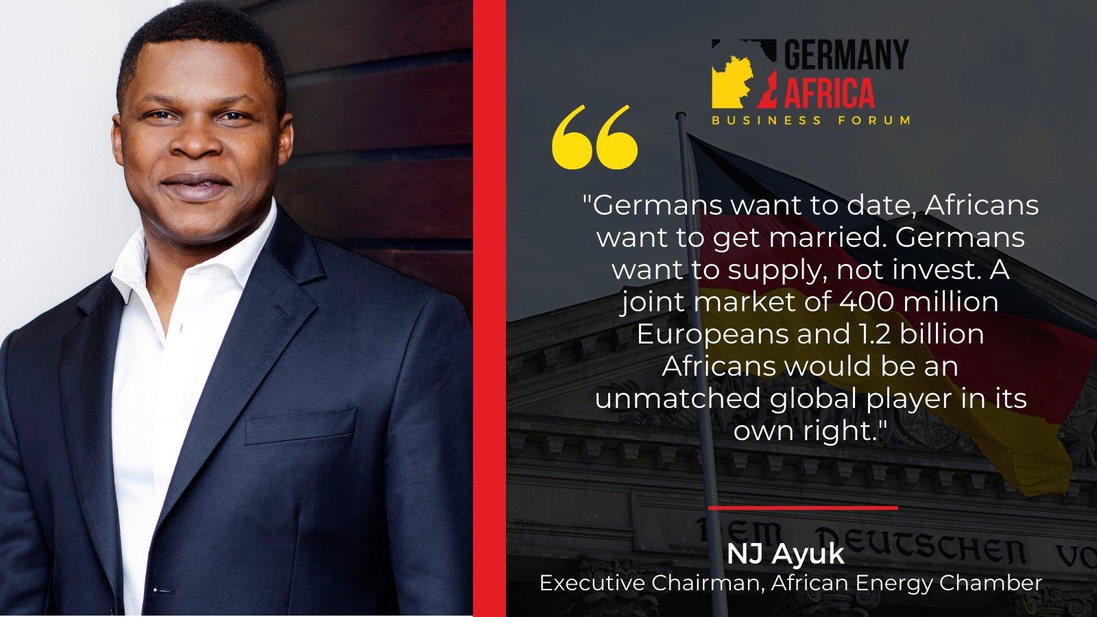 NJ Ayuk, Executive Chairman of the African Energy Chamber