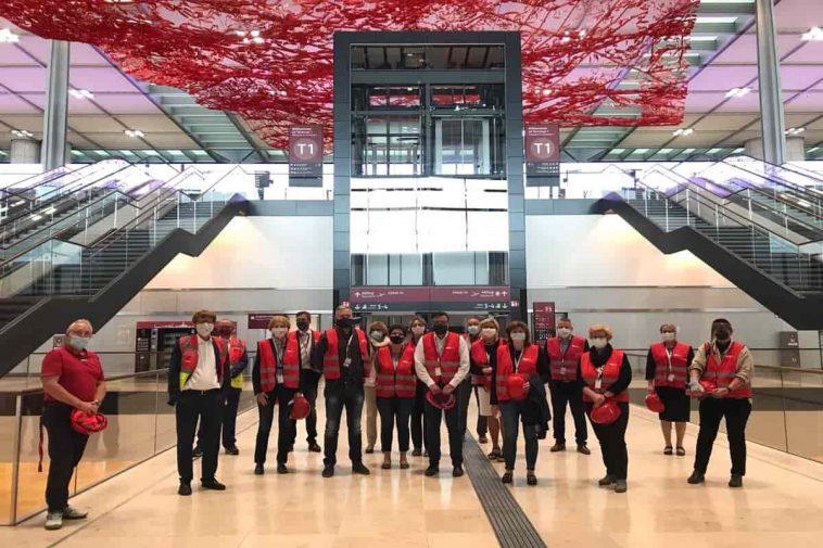 Berlin Brandenburg airport open