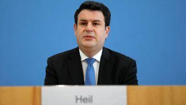 German Labour Minister Hubertus Heil