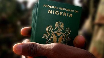 expired Nigerian passport