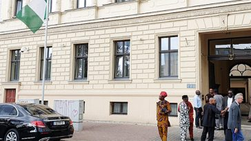 Nigerian embassy in Germany