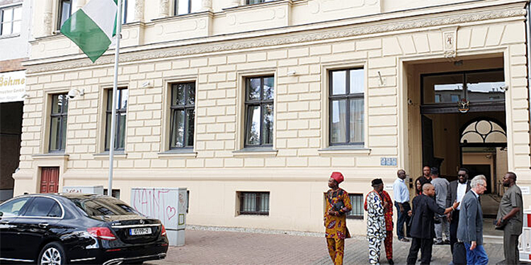 Nigerian embassy in Germany