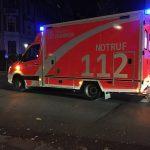 80 year old pedestrian injured Duisburg-Großenbaum