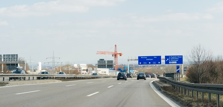 Germany A10 motorway closed