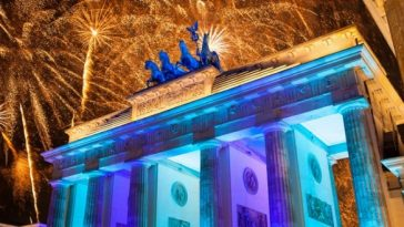 Germany New year's Eve celebration