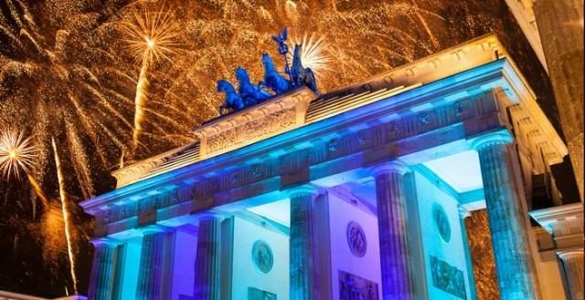 Germany New year's Eve celebration