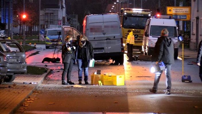 Explosions in Bochum Wattenscheid Germany