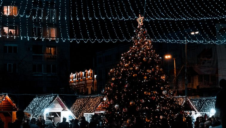 Christmas market in Scranton Germany