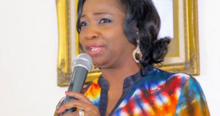 Hon. Abike Dabiri-Erewa Chairman/CEO, Nigerians in Diaspora Commission (NIDCOM) (Photo: NIDCOM) informs Nigerians abroad of how to go about registering for National Identity Number (NIN)