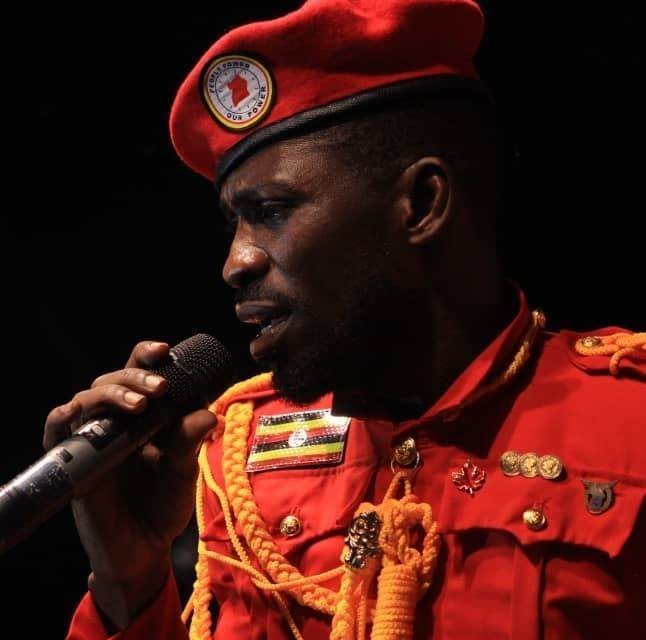 Uganda presidential hopeful and musician Bobi Wine
