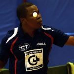 Nigerian table tennis star Kolawole Oladapo