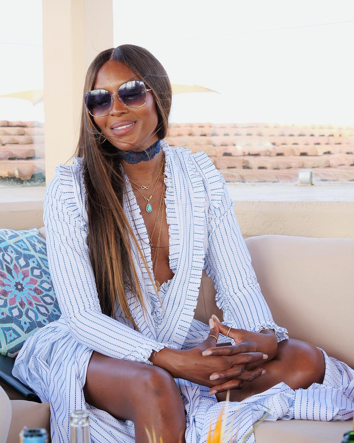British supermodel Naomi Campbell to promote tourism to Kenya (Photo: Ministry of Tourism – Kenya/Facebook)