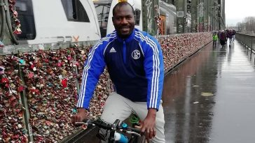 Nigerian man rises to fame in Germany by balancing beer
