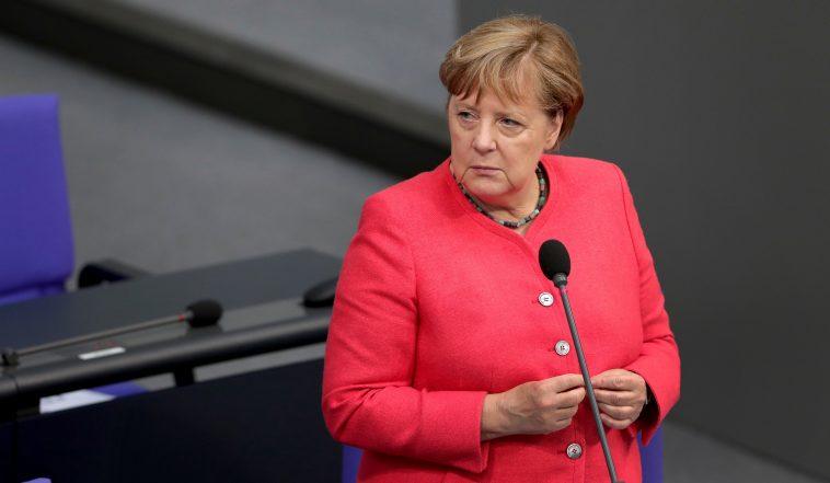 Merkel announces lockdown extension