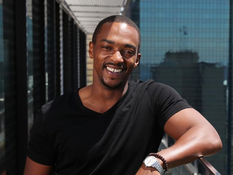 Anthony Mackie vacations in Kenya
