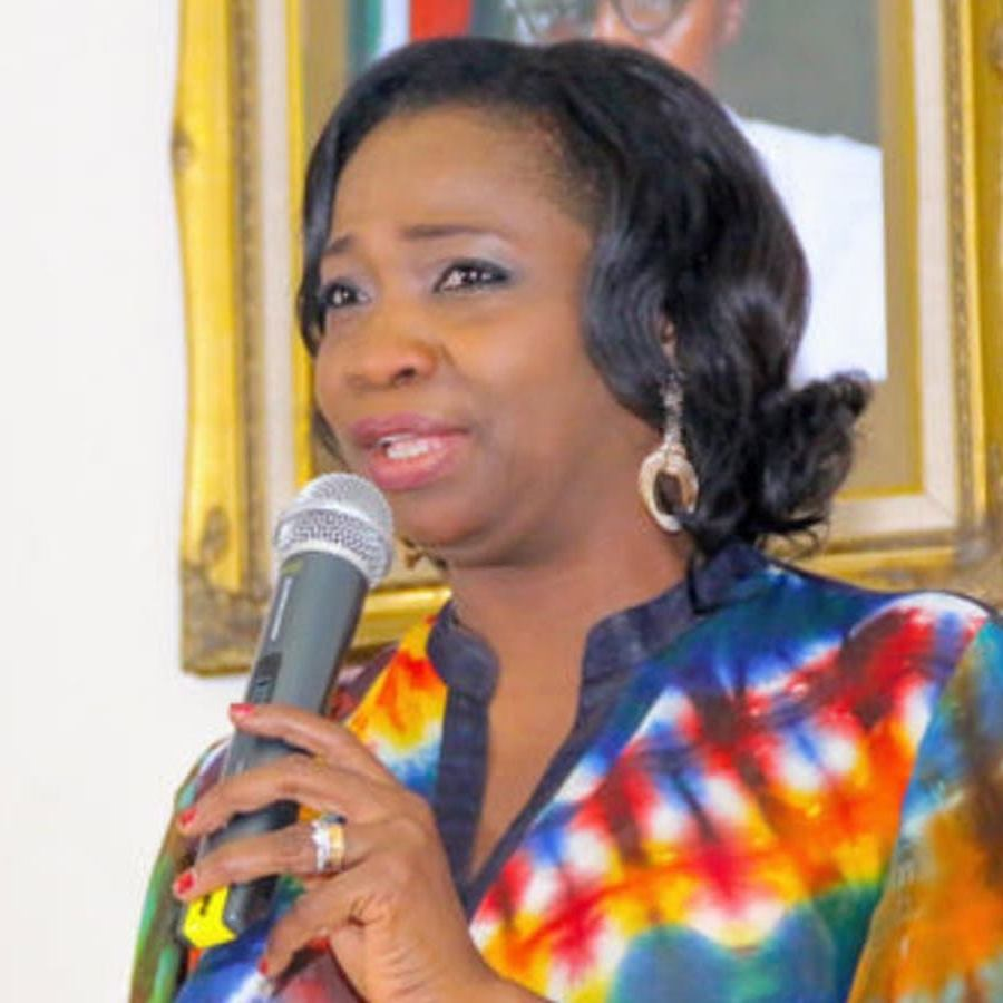 Hon. Abike Dabiri-Erewa, Chairperson of the Nigerians in Diaspora Commission (NiDCOM)