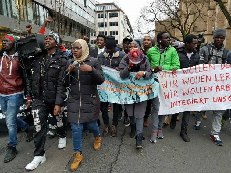 deportations from Germany: Gambians