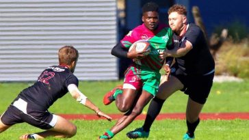 Welland Mugeni Kenya Rugby