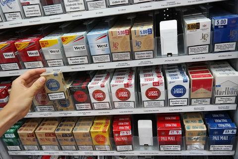 Germany tobacco prices rise